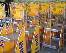 Fanta fém display