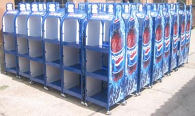 Pepsi fém display